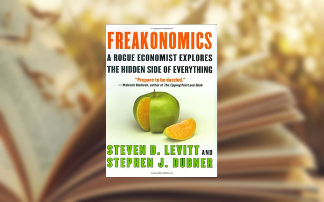 Freakonomics by Steven D