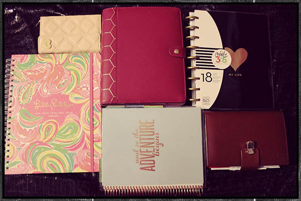 How I Organize my Life through my Planners1
